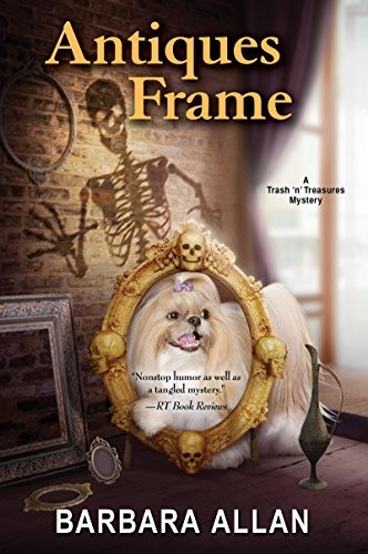 Antiques Frame by Barbara Allen