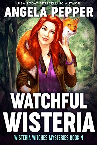 Watchful Wisteria by Angela Pepper
