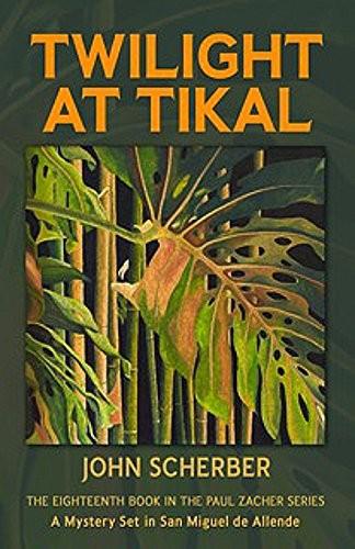 Twilight at Tikal by John Scherber