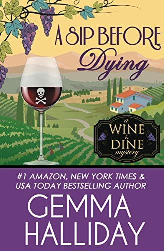 A Sip Before Dying by Gemma Halliday