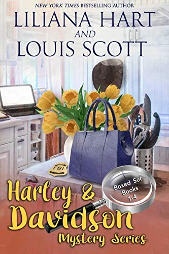 A Harley and Davidson Mystery Box Set 1 by Lilianna Hart and Louis Scott