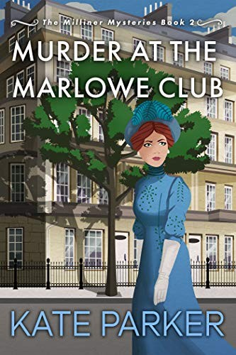 Murder at the Marlowe Club by Kate Parker