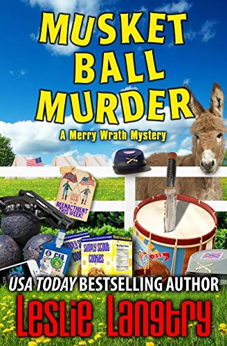 Musket Ball Murder by Leslie Langtry